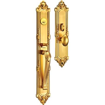 Luxury European Style Commercial Door Lock with Zinc Alloy
