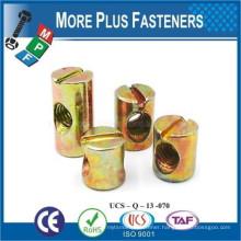 Made in Taiwan Cross Dowel Barrel Nut