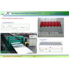 High Speed Steel Corrugated Iron Sheet Making Machine ---CE Stander