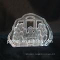 2015 hot sale 3D laser engraved crystal iceberg for religion Jesus glass sculpture