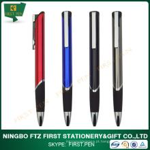 Nova caneta esferográfica metálica
