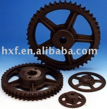 Molten sprocket wheel