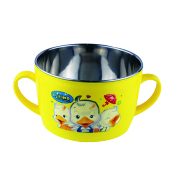 600 ml Stainless Steel Bowl With Handle Without Lid