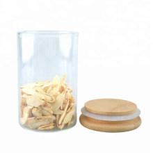 Food Grade Glass Storage Kitchen Jar with Cork Lid
