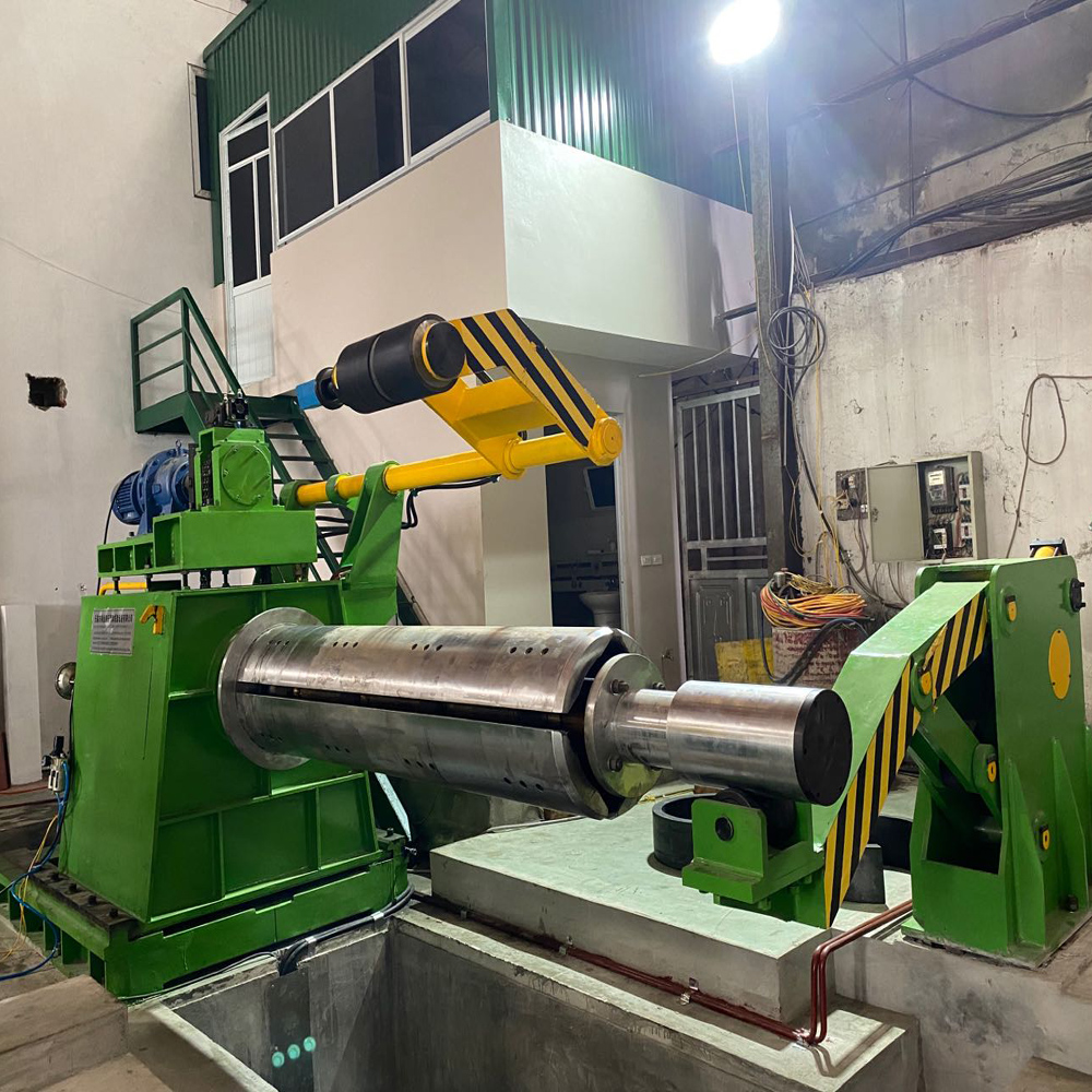 high speed slitting line decoiler