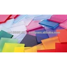 Flatness, glossiness Solid Polystyrene sheet for advertising banner