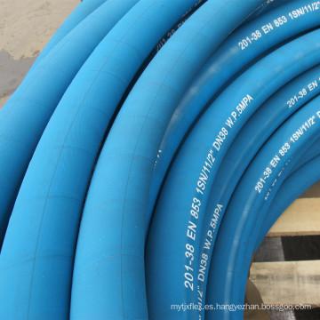 Manguera de goma flexible de 2 pulgadas resistente al calor del compresor de aire