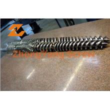 Tuyau en PVC Extrusion Twin baril conique double vis