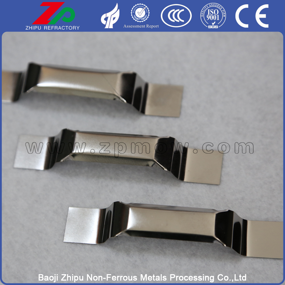 Heating elements evaporation polished tungsten boat