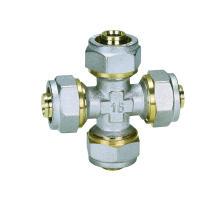 КТМ Кросс (Hz8023) фитинги для PEX-Аль-PEX труб, алюминиевые пластиковые трубы, горячая вода и холодная вода