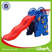 Kinder Indoor Kunststoff Slide zum Verkauf LE-HT005