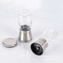 стеклянная ручная мельница для соли и черного перца