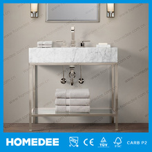 Homedee North America Style Modern Solid Wooden Bathroom Vanity Cabinet