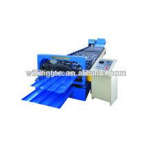 Rodillo de la hoja del tejado que forma la máquina / rodillo de acero corrugado que forma la máquina
