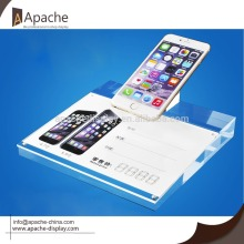 New Fashion Design for Acrylic Displays Acrylic cell phone anti-theft display holder export to Suriname Exporter