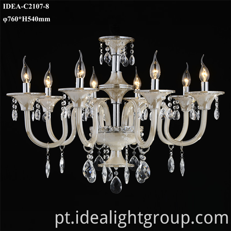glass chandelier european
