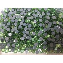Green Ss10 Hot Fix Rhinestones AAA