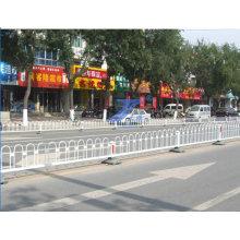 Clôture municipale enrhée en forme de fer pour route urbaine