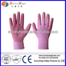 13 перчаток с латексной пеной с покрытием из латекса
