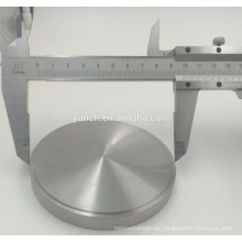 Objetivo / disco de titanio dental médico ASTM F136 Gr5 Ti6al4V