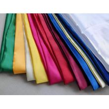 100% Polyester Satin Stoff