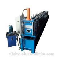Agua canal perfiladora de canalón usada máquina, máquina formadora de rollos