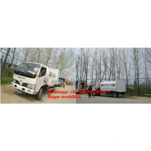 2017s dongfeng 4*2 2.5tons mobile lpg gas dispensing truck for sale
