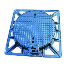 Sewer Manhole Cover En124 Ductile Iron OEM at Least 40 Ton Casting D400 C250 B125 600*600mm CN;SHX 100mm