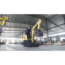 Gartenmaschinen Minibagger Bagger 1 Tonne mit Dach für den Bau von landwirtschaftlichen Betrieben