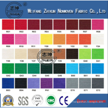 Colorful Customrized PP Eco-Friendly Nonwoven Fabric for Shopping Bag