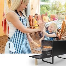 Семейный гриль-барбекю для курильщиков