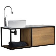 Armoire de salle de bain en panneau de fibres de bois à densité moyenne