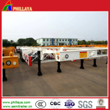 3 Axles container Trailer for Container Transport
