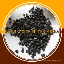 гранулированный антрацит фильтра для очистки воды