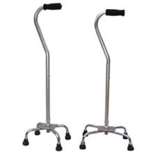 Muleta de caminhada com quatro pernas com novo design