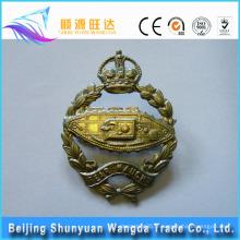Chine Alibaba Fournisseur Meilleur prix offre Badge personnalisé en métal moulé sous pression dans le bouton