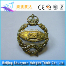 Custom Bronze,Brass,Zinc Alloy,Aluminum Badge Material for Metal Badge