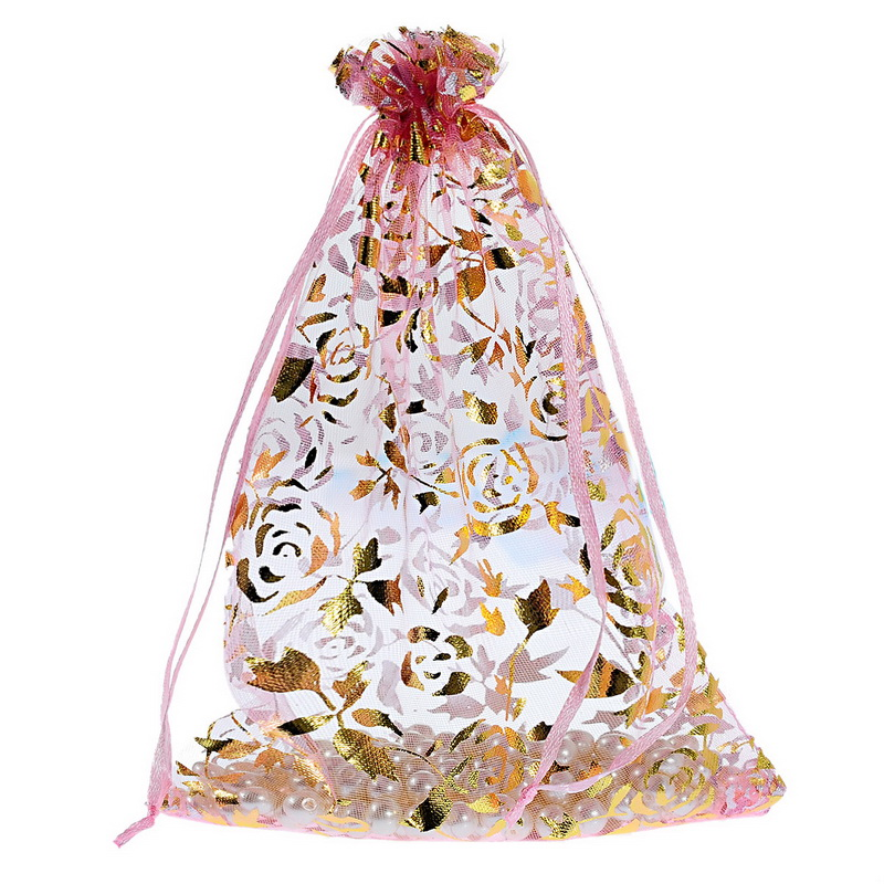top quality candies packaging organza bags