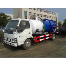 ISUZU 3000 liters vacuum sewage suction tank truck