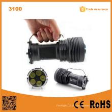 Lumifire 3100 super poder 5pcs Xml-T6 LED 5000 lúmens lanterna LED