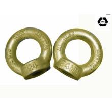 DIN 582 Oeufs de levage à l'aide de zinc jaune