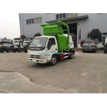 Front loading animal innocuous treatment vehicle