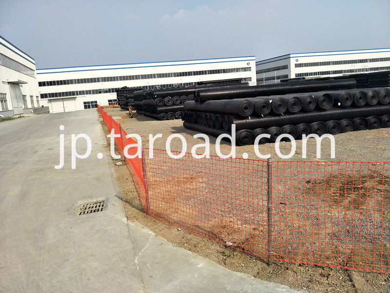 temperaory mesh barriers
