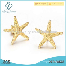 Dubai gold jewelry star earring models, simple gold earring designs for women