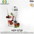 600ml BPA libre Vortex plastique Shake bouteille, bouteille Shaker de protéine électrique plastique Portable (HDP-0729)