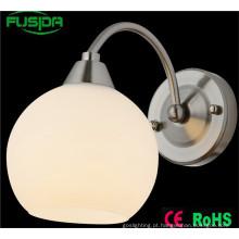 Fábrica de cor direta branco lâmpada de parede do quarto e luz da parede para a decoração