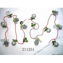 Giftbox Lámina de cuentas Guirnalda decorativa de Navidad