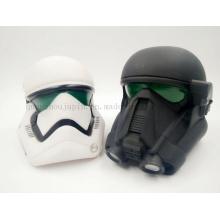 Star Wars Helmet Promotion Plastic Craft Saving Money Box Toy