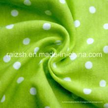 Tissu en coton imprimé en coton tricot pour commerce de gros