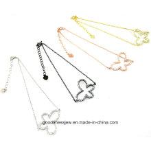 2015 Fashion Silver Butterfly Design 925 Silver Jewelry Bracelet St3200